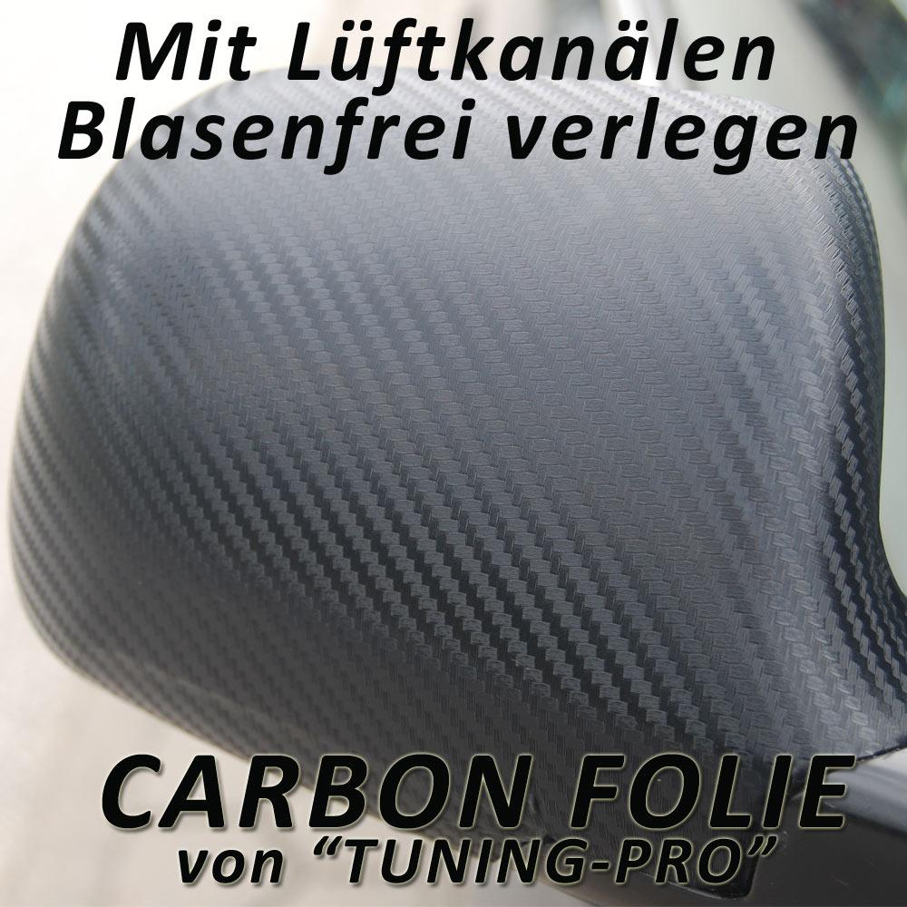 3d carbon schwarz auto folie 100cm x 152cm luftkan le. Black Bedroom Furniture Sets. Home Design Ideas