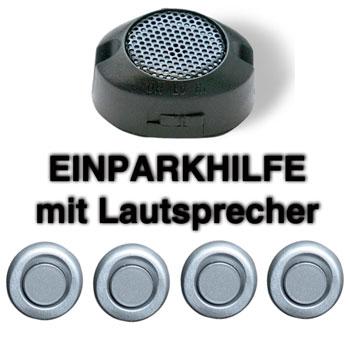 einparkhilfe 4 sensoren silber 18mm m0 r ckfahrwarner parktronik pts pdc ebay. Black Bedroom Furniture Sets. Home Design Ideas