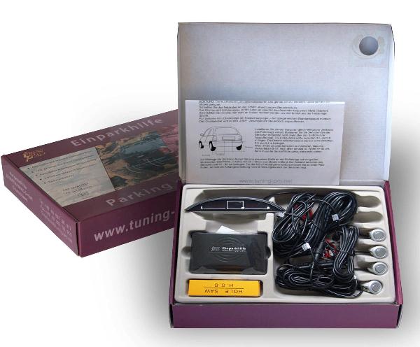 einparkhilfe 4 sensoren 18mm silber m3 r ckfahrwarner parktronik opel corsa c ebay. Black Bedroom Furniture Sets. Home Design Ideas